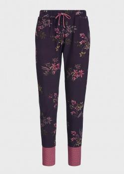 Зауженные брюки Pip Studio Buiter в бордовом цвете для дома, фото