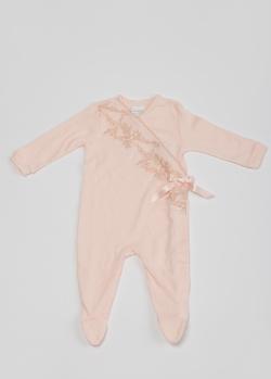 Комбинезон для девочек La Perla Home розового цвета, фото