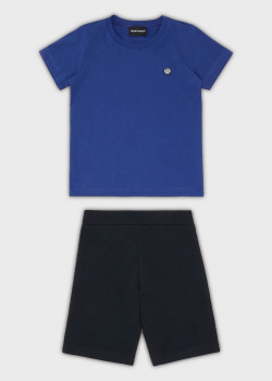 Детский костюм Emporio Armani футболка с шортами, фото