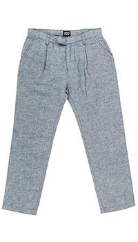 Классические брюки Emporio Armani серого цвета, фото