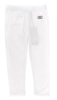 Спортивные брюки Ermanno Scervino белого цвета с логотипом, фото