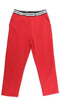 Детские брюки Ermanno Scervino с брендовой надписью, фото