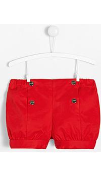 Детские красные шорты Jacadi с эластичным поясом, фото