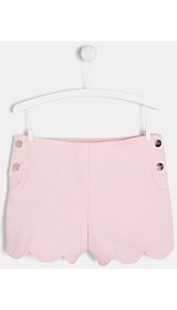 Розовые шорты на кнопках Jacadi для девочки, фото
