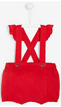 Льняные шорты Jacadi для девочек, фото