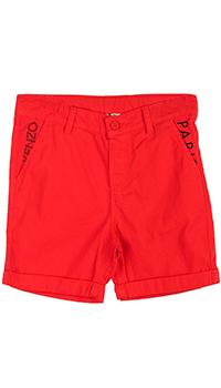 Шорты Kenzo красного цвета для мальчика, фото