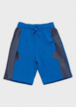 Детские шорты Kenzo синего цвета, фото