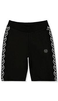 Черные шорты Philipp Plein детские, фото