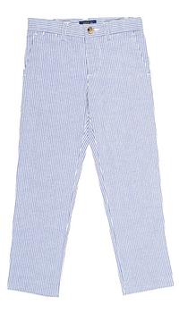 Брюки Polo Ralph Lauren в вертикальную полоску, фото