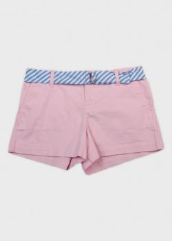 Розовые шорты Polo Ralph Lauren для девочек, фото