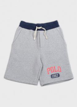 Серые шорты Polo Ralph Lauren для мальчиков, фото