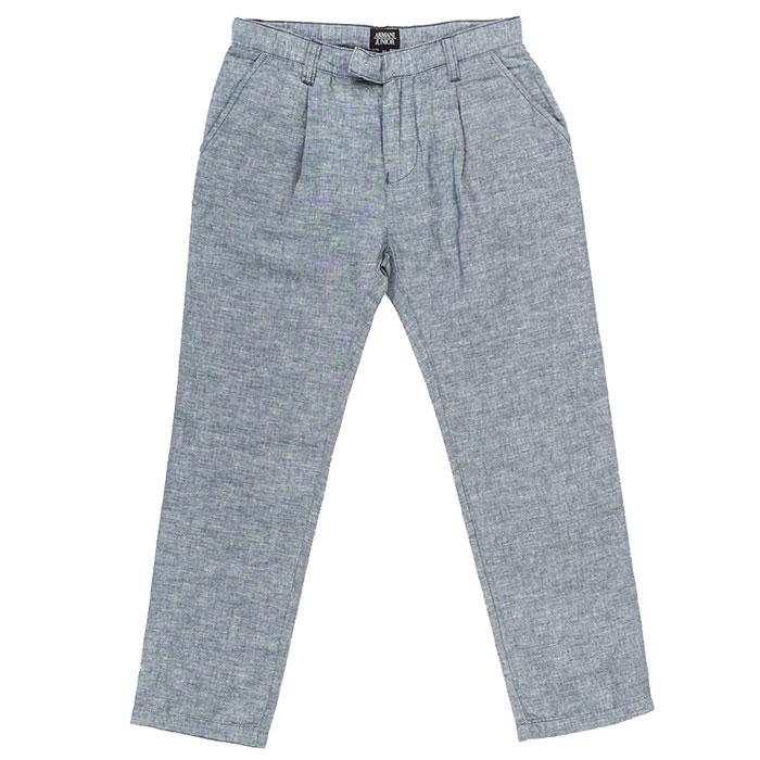 Классические брюки Emporio Armani серого цвета