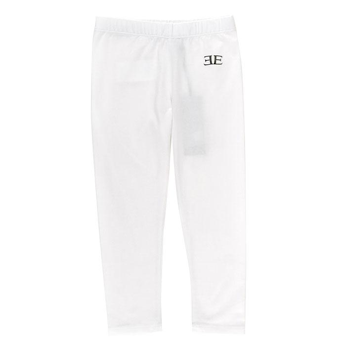 Спортивные брюки Ermanno Scervino белого цвета с логотипом
