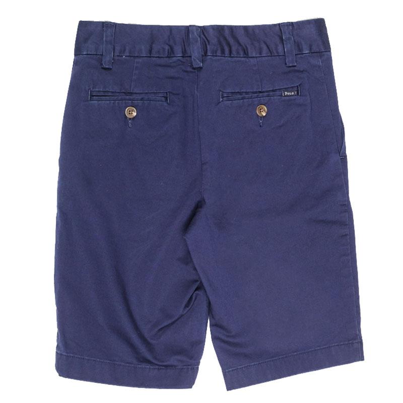 Шорты классические Polo Ralph Lauren синего цвета