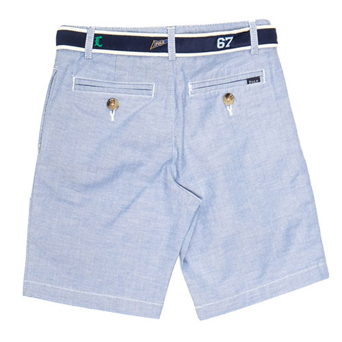 Классические шорты Polo Ralph Lauren светло-голубые, фото