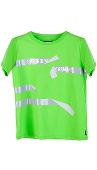 Набор футболок Emporio Armani для мальчиков в трех цветах, фото