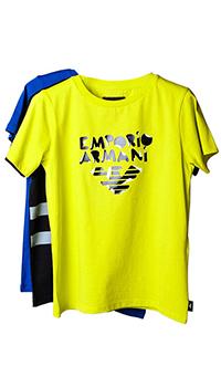 Набор цветных футболок Emporio Armani для мальчика, фото