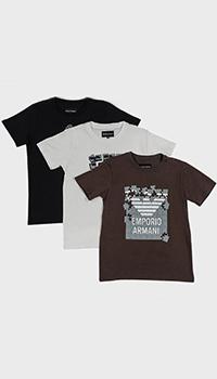 Набор футболок из 3-х штук Emporio Armani для детей, фото