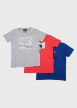 Набор футболок Emporio Armani для детей 3шт, фото