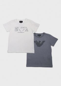 Набор из двух футболок Emporio Armani для детей, фото