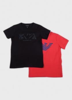 Набор футболок Emporio Armani для детей 2шт, фото