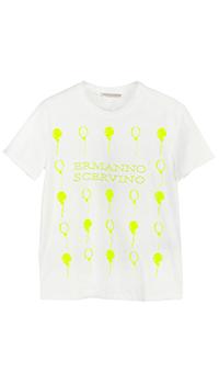 Детская футболка Ermanno Scervino для девочки, фото