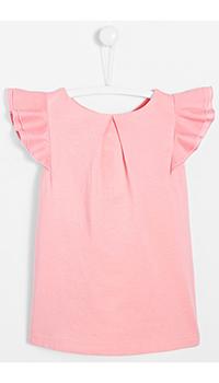 Розовая футболка Jacadi для девочки, фото