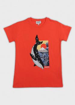 Детская футболка Kenzo с китом, фото