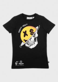 Детская футболка Philipp Plein с принтом, фото