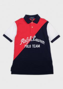 Поло для мальчиков Polo Ralph Lauren с надписью, фото