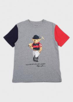 Детская футболка Polo Ralph Lauren с принтом, фото