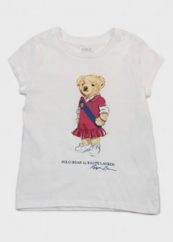 Детская футболка Polo Ralph Lauren с рисунком, фото