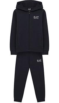 Детский спортивный костюм Ea7 Emporio Armani темно-синий, фото