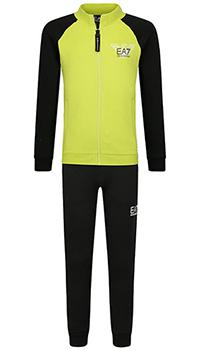 Детский спортивный костюм Ea7 Emporio Armani с принтом на спине, фото