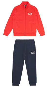 Детский спортивный костюм Ea7 Emporio Armani с лого, фото