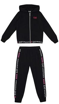 Спортивный костюм Ea7 Emporio Armani для девочек, фото