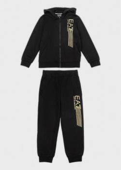 Спортивный костюм для детей EA7 Emporio Armani с логотипом, фото