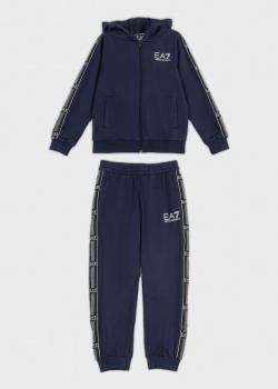 Спортивный костюм для детей EA7 Emporio Armani с лампасами, фото