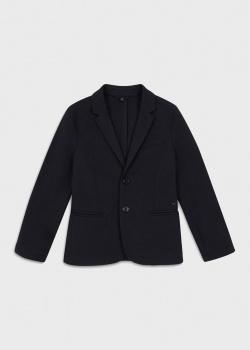 Пиджак Emporio Armani на две пуговицы черного цвета, фото