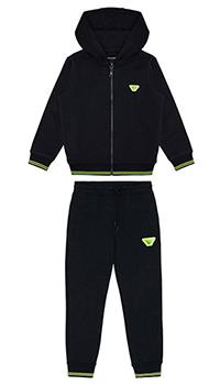 Детский спортивный костюм Emporio Armani с яркой окантовкой, фото