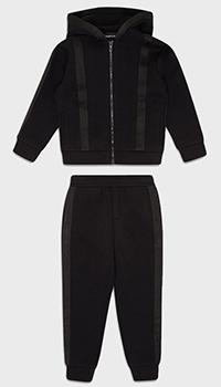 Детский спортивный костюм Emporio Armani черного цвета, фото