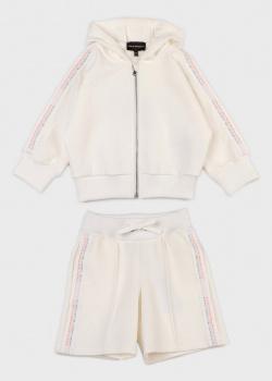 Детский костюм Emporio Armani молочного цвета, фото