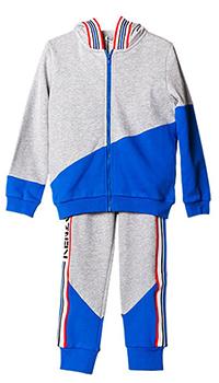 Спортивный костюм Kenzo с синими асимметричными вставками, фото