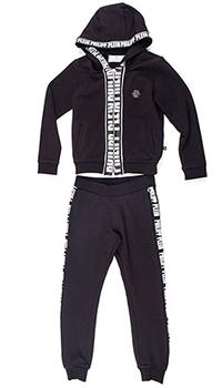 Черный спортивный костюм Philipp Plein с принтом, фото