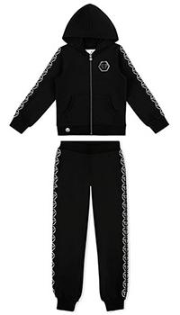 Детский спортивный костюм Philipp Plein черного цвта, фото