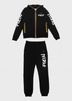 Спортивный костюм Philipp Plein черного цвета для детей, фото