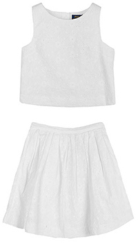 Набор Polo Ralph Lauren юбка с топом, фото