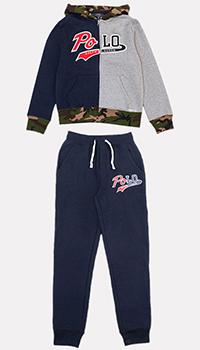 Детский спортивный костюм Polo Ralph Lauren с лого, фото