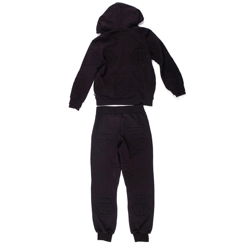 Спортивный костюм Philipp Plein All over PP черного цвета