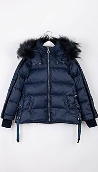 Синяя куртка Elsy для девочки, фото